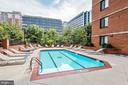 Community Pool. - 1001 RANDOLPH ST #406, ARLINGTON