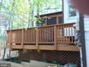 Deck With Hot Tub - 5701 WOODEN HAWK LN, BURKE