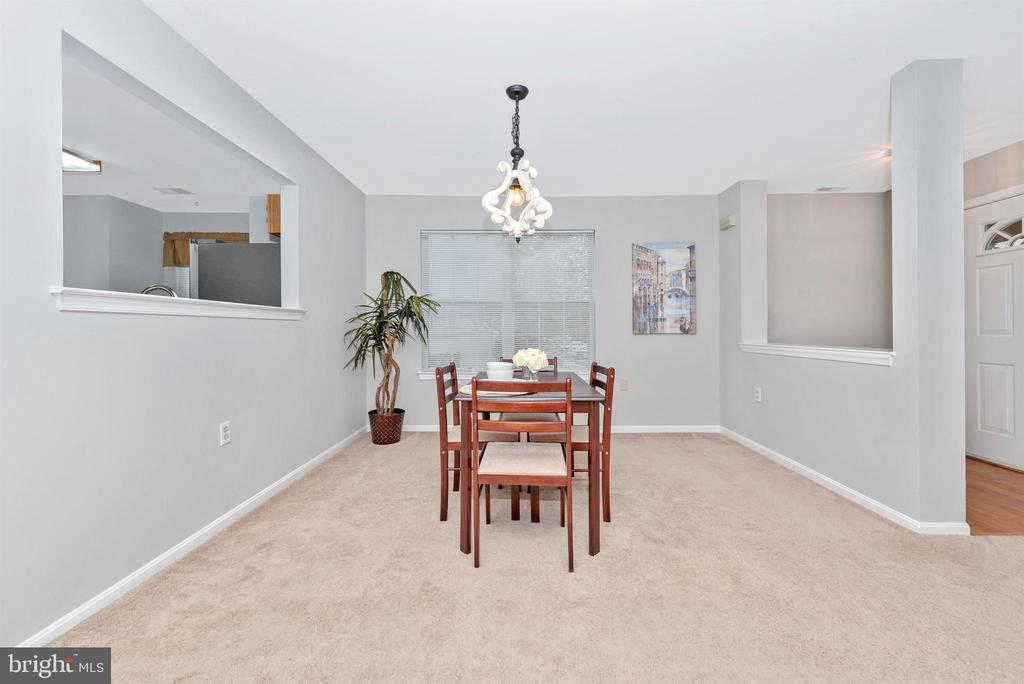 Dining Room - 2631 N EVERLY DR #412, FREDERICK