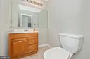 Main Level Powder Room - 2631 N EVERLY DR #412, FREDERICK
