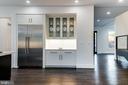 Thermador Self Closing & Opening Refrigerator - 4647 38TH PL N, ARLINGTON
