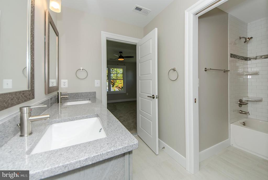 Dual Vanity Bathroom (Jack & Jill) (Model Home) - 2013 STORM DR, FALLS CHURCH