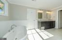 Spacious Master Bathroom (similar Model Home) - 2013 STORM DR, FALLS CHURCH