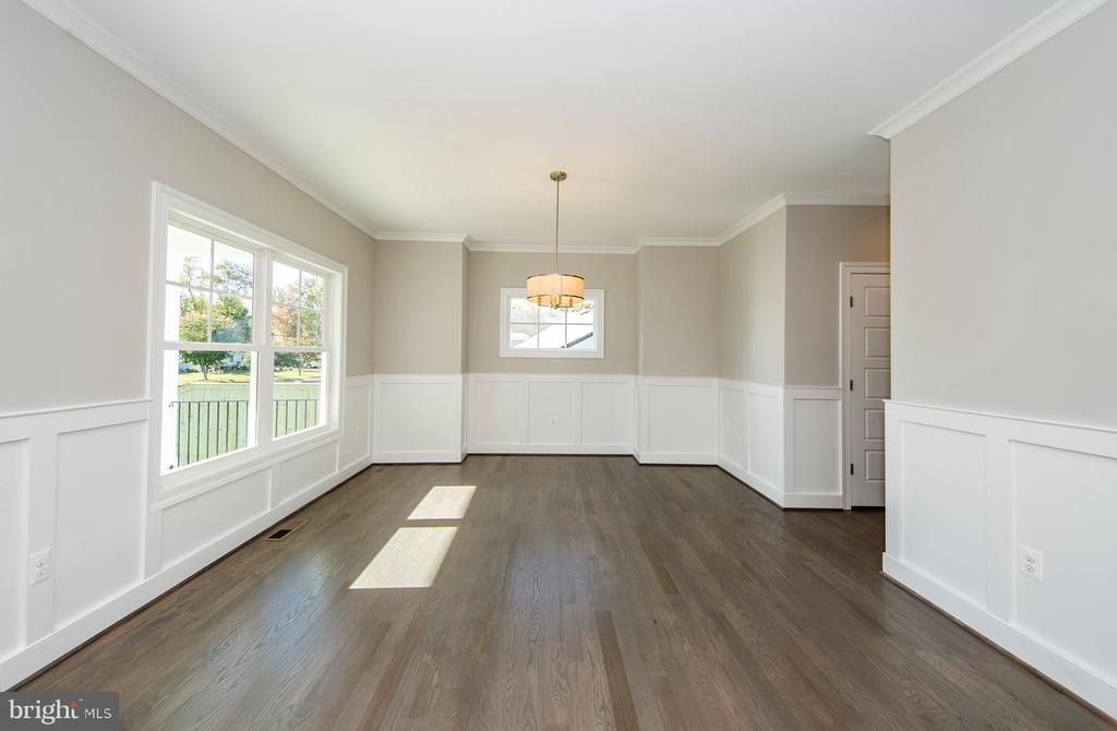 Formal Dining  (photo: similar Model - Sold Home) - 2013 STORM DR, FALLS CHURCH