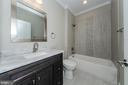 Main Level Full Bathroom (similar Model) - 2013 STORM DR, FALLS CHURCH