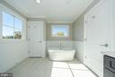 Sunlit Master Suite Bathroom (similar Model Home) - 2013 STORM DR, FALLS CHURCH