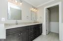 Dual Vanities (photo: similar Model - Sold Home!) - 2013 STORM DR, FALLS CHURCH