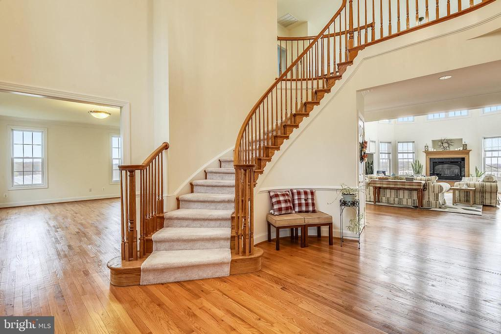 Magnificent two story foyer - 23107 DAVIS MILL RD, GERMANTOWN