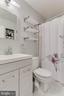 Second full bath on upper level - 3814 USHER CT, ALEXANDRIA