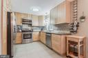 Renovated kitchen with lots of cabinet space - 3814 USHER CT, ALEXANDRIA