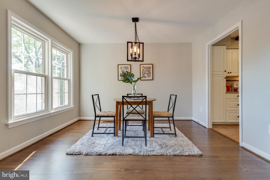 Plenty of room for a small or big table - 1009 N TERRILL ST, ALEXANDRIA