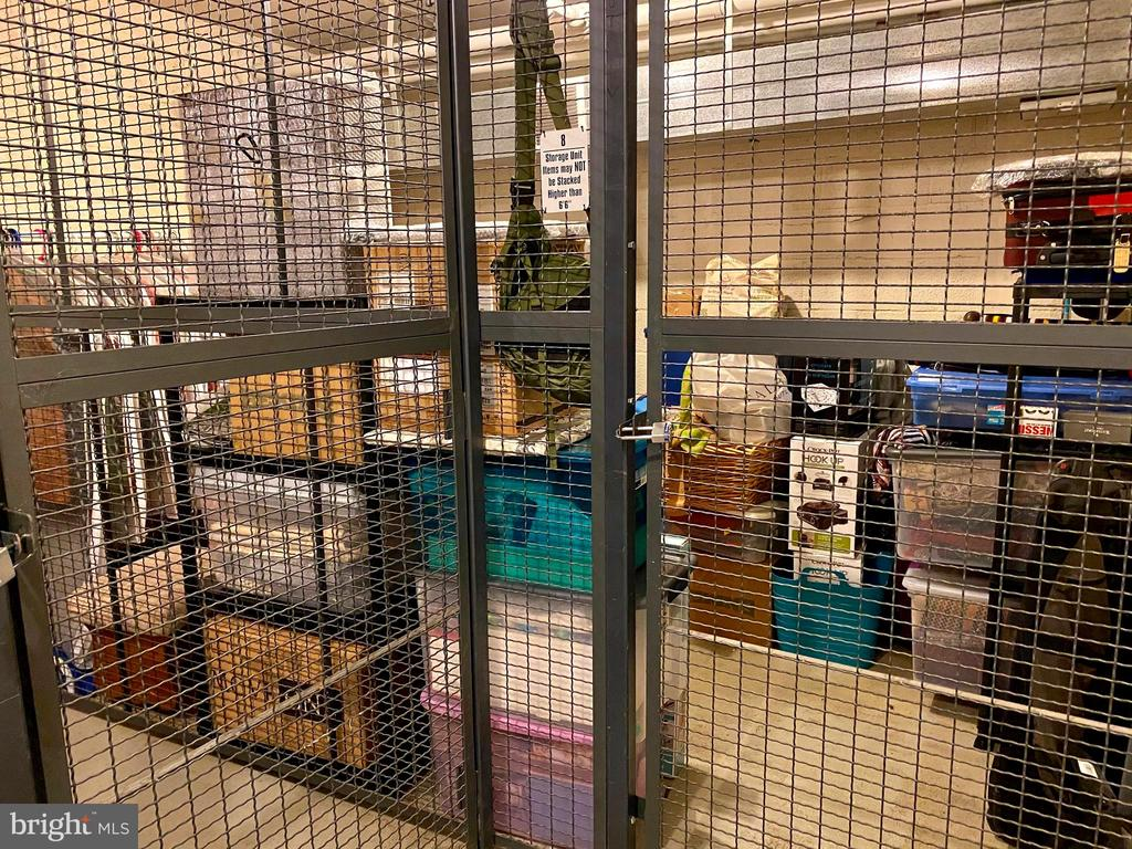 Large Extra Storage, Locked Room in same building. - 4165 S FOUR MILE RUN DR #204, ARLINGTON