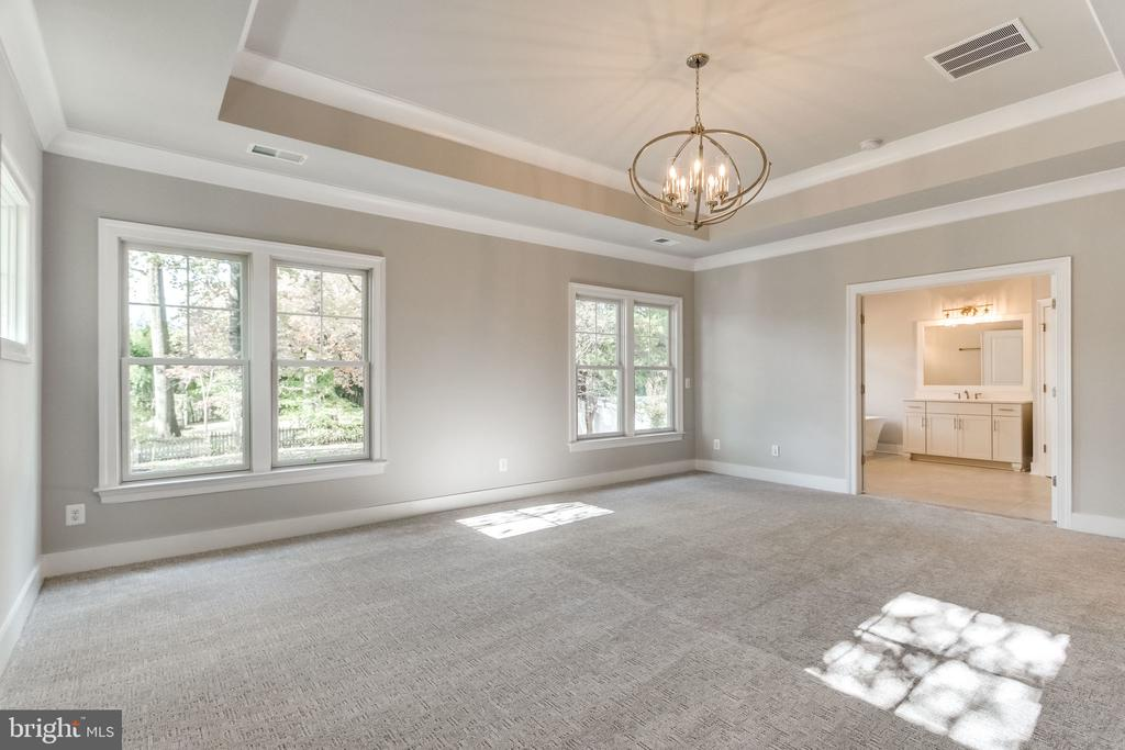 MASTER SUITE. - 6593 WILLIAMSBURG BLVD, ARLINGTON