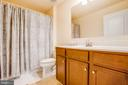 3rd Full bath - lower leveel - 9808 BALLS BLUFF DR, FREDERICKSBURG