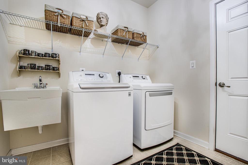 Laundry Room - 9808 BALLS BLUFF DR, FREDERICKSBURG