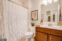 Full bath - main level - 9808 BALLS BLUFF DR, FREDERICKSBURG