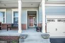Front entrance & porch - 9808 BALLS BLUFF DR, FREDERICKSBURG