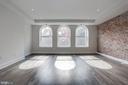 Exposed brick wall, natural light, open floor plan - 1745 N ST NW #410, WASHINGTON