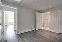 Guest bedroom with en suite bath - 1745 N ST NW #410, WASHINGTON