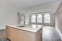 Kitchen island - 1745 N ST NW #410, WASHINGTON
