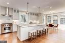 Kitchen- Quartz Countertops thru house - 2322 N FILLMORE ST, ARLINGTON
