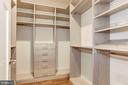 MBR closet - 2 - 2322 N FILLMORE ST, ARLINGTON