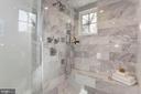 Marble Shower- Ultimate Shower Sysytem - 2322 N FILLMORE ST, ARLINGTON