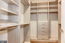 MBR Closet - 1 - 2322 N FILLMORE ST, ARLINGTON