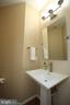 Remodeled powder room on main level - 21972 STONESTILE PL, BROADLANDS