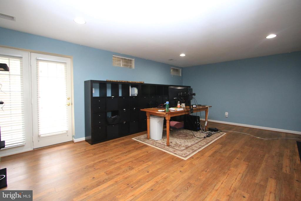 Bright open rec room on lower level - 21972 STONESTILE PL, BROADLANDS