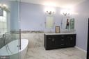 Master bath- fully remodeled - 21972 STONESTILE PL, BROADLANDS