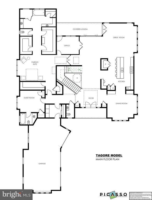 Main Level Plan - LOT 3A COLCHESTER RD, CLIFTON