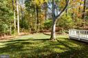 Backyard - 8928 MAURICE LN, ANNANDALE
