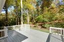 Beautiful backyard - 8928 MAURICE LN, ANNANDALE