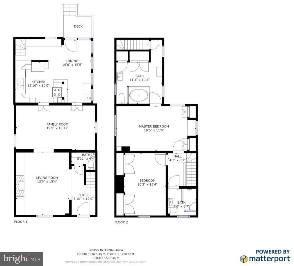Floor plans - 232 PRINCESS ANNE ST, FREDERICKSBURG