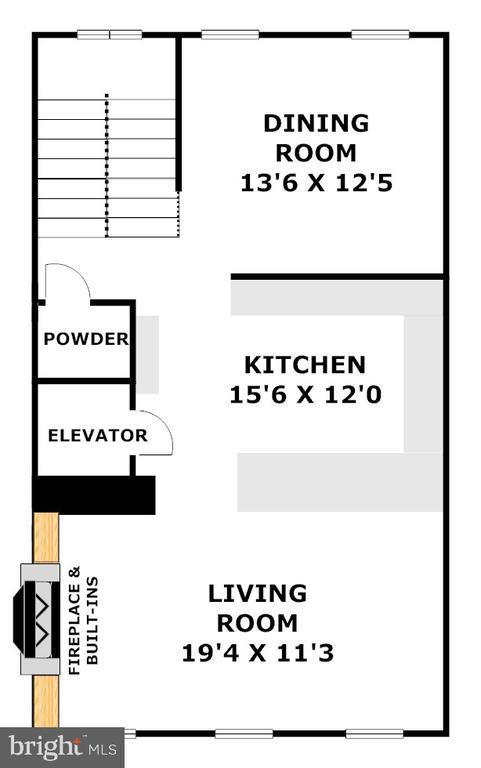 Gourmet Kitchen, Formal Dinning&FR - 1335 14TH ST N, ARLINGTON