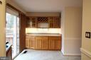 Main Level - Kitchen Buffet Area & Deck Access - 9226 KRISTY DR, MANASSAS PARK