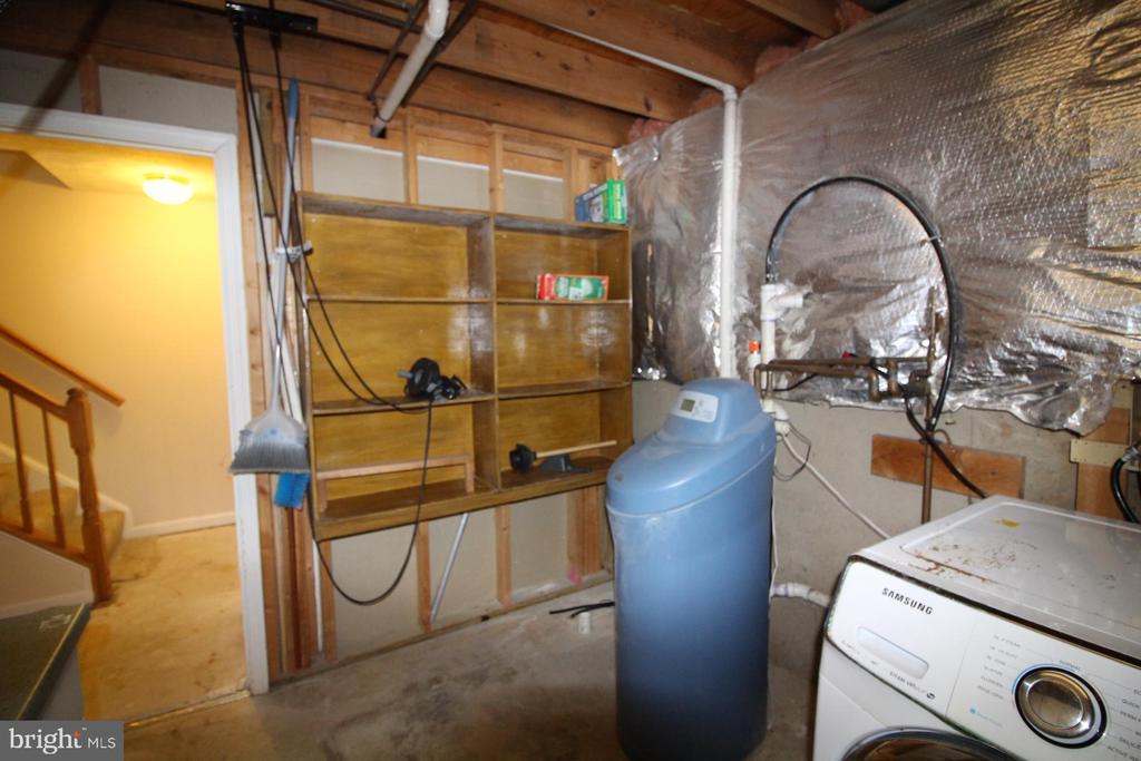 Lower Level - Utility & Laundry Area - 9226 KRISTY DR, MANASSAS PARK