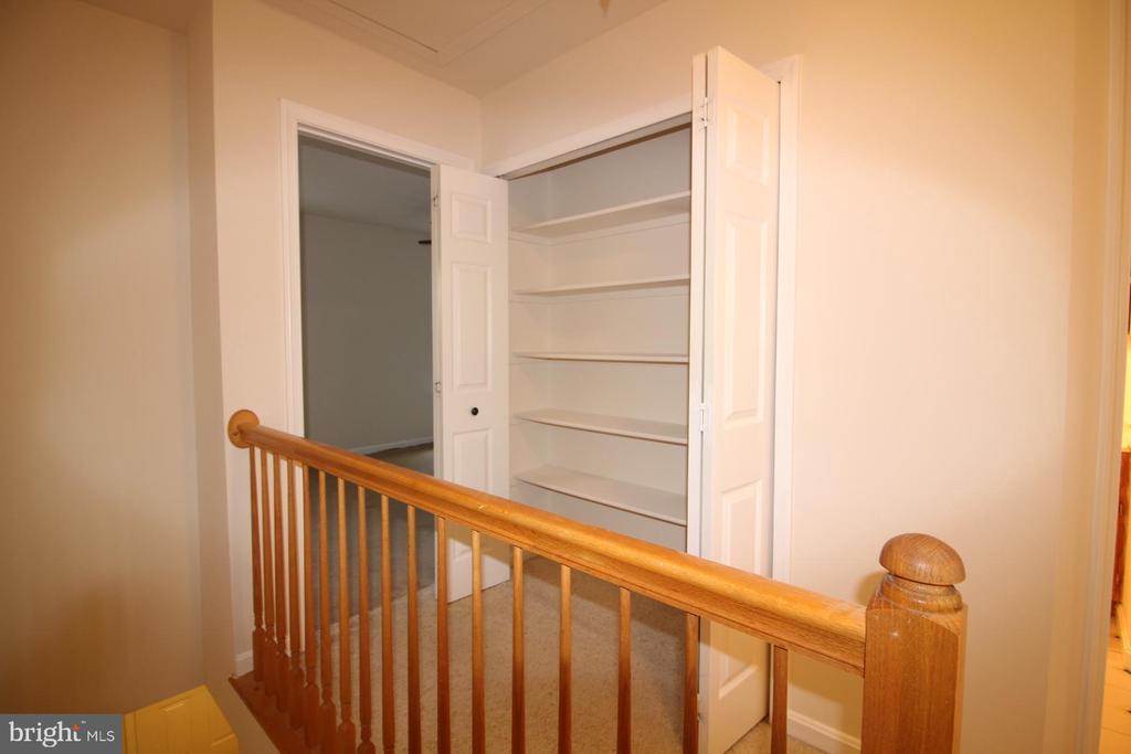 Upper Level - Staircase,  Hall & Closet - 9226 KRISTY DR, MANASSAS PARK