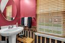 Half bath on main level - 21618 ROMANS DR, ASHBURN