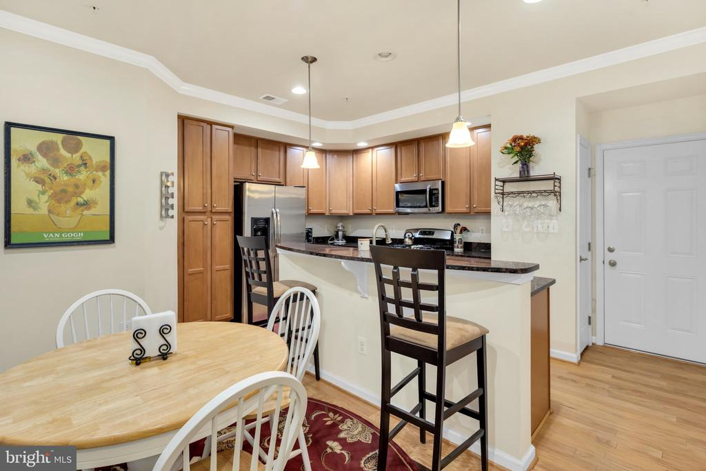 Convenient breakfast bar - 21618 ROMANS DR, ASHBURN