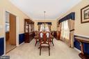 Formal Dining Room - 5730 MEYER AVE, NEW MARKET