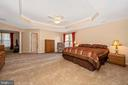 Huge Master Suite w/Tray Ceiling - 5730 MEYER AVE, NEW MARKET