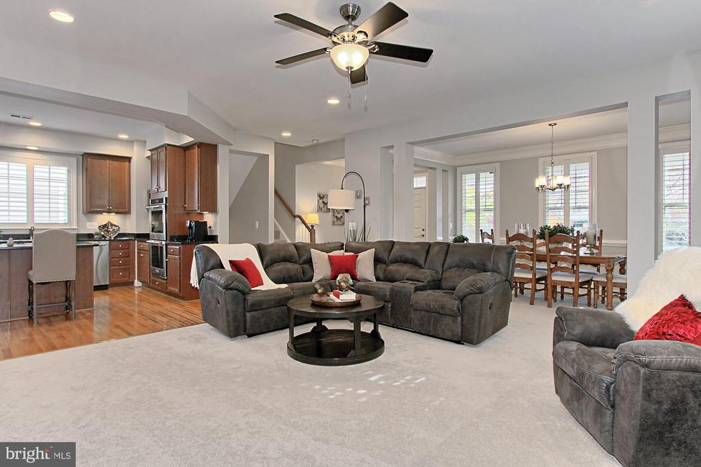 Newer Plush Carpet, Plantation Shutters - 23082 BRONSTEIN LN, BRAMBLETON