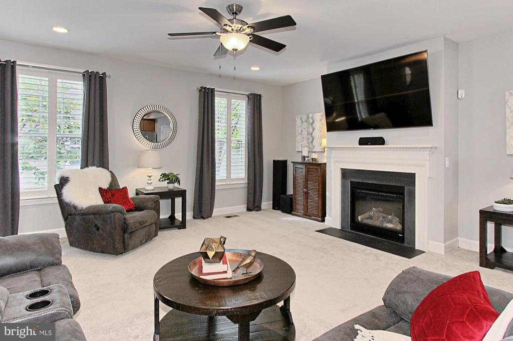 Gas Fireplace, Ceiling Fan= move in ready!!! - 23082 BRONSTEIN LN, BRAMBLETON