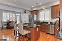 Lovely Chefs Kitchen w/ All New SS appliances - 23082 BRONSTEIN LN, BRAMBLETON