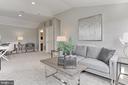 Great Natural Lighting, Full Bath+ Bedroom - 23082 BRONSTEIN LN, BRAMBLETON