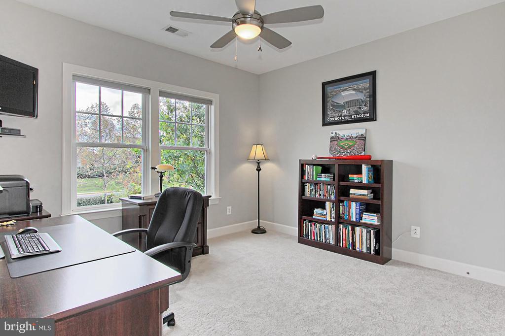 Bedroom #4 w CF, Reach In Closet and Tree Views!! - 23082 BRONSTEIN LN, BRAMBLETON