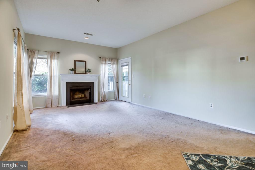 Enjoy the fireplace during the holidays! - 6011 ROSEBUD LN #101, CENTREVILLE