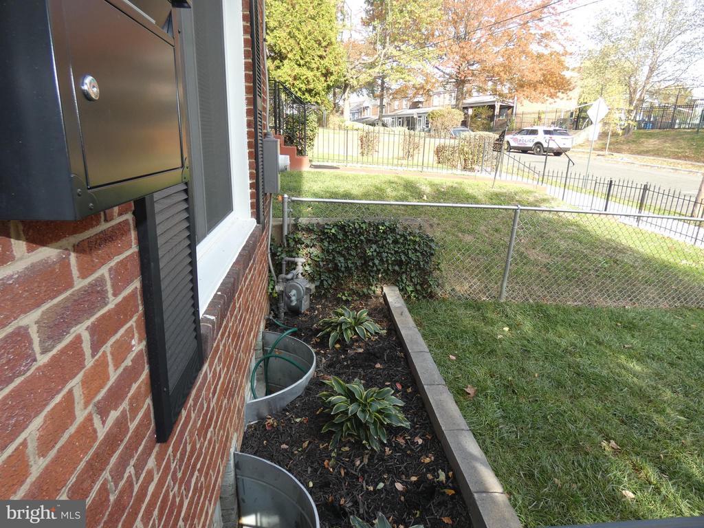 Front yard - 2310 14TH ST NE, WASHINGTON